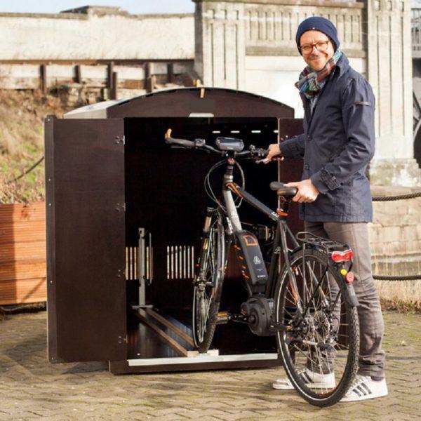 Biky M sykkelboks